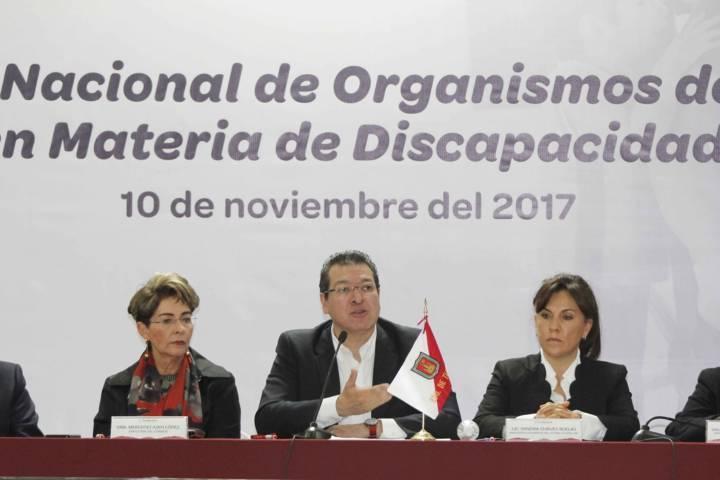 Trato igualitario para la población con discapacidad: Marco Mena