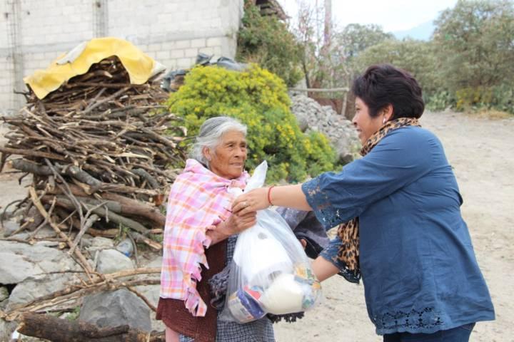 Nuestro trabajo atender a las familias en situación vulnerables: Escamilla  Pérez