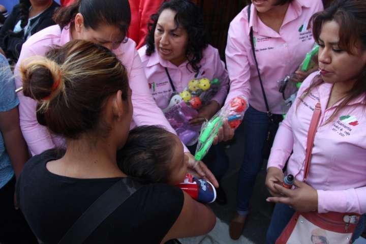 El DIF Municipal entregó más de 15 mil juguetes a niños y niñas de Huamantla
