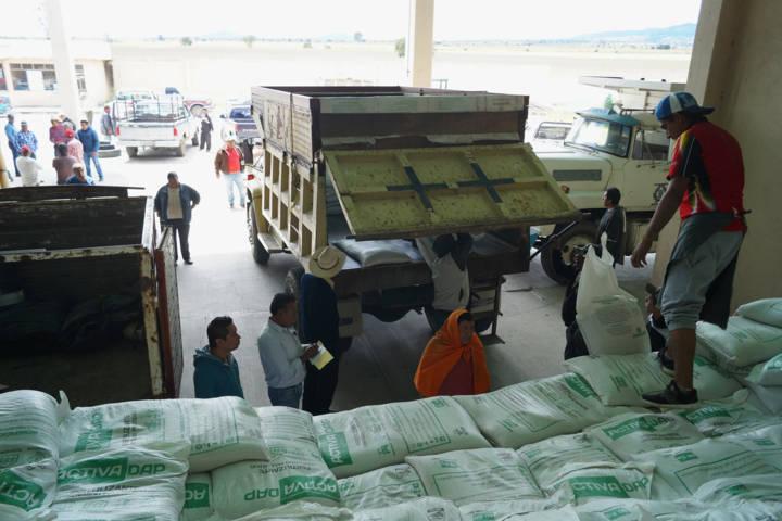 Se repartieron más de 500 mil pesos para beneficiar a 41 productores del campo