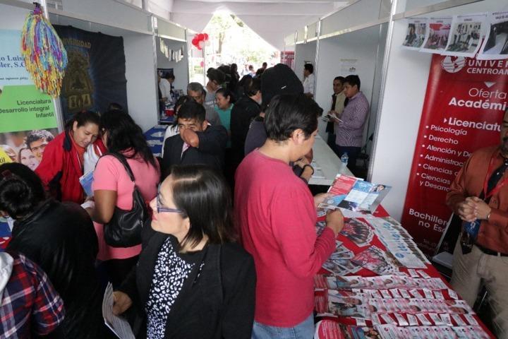 Universidades ofertarán becas este fin de semana en el Zócalo de Tlaxcala