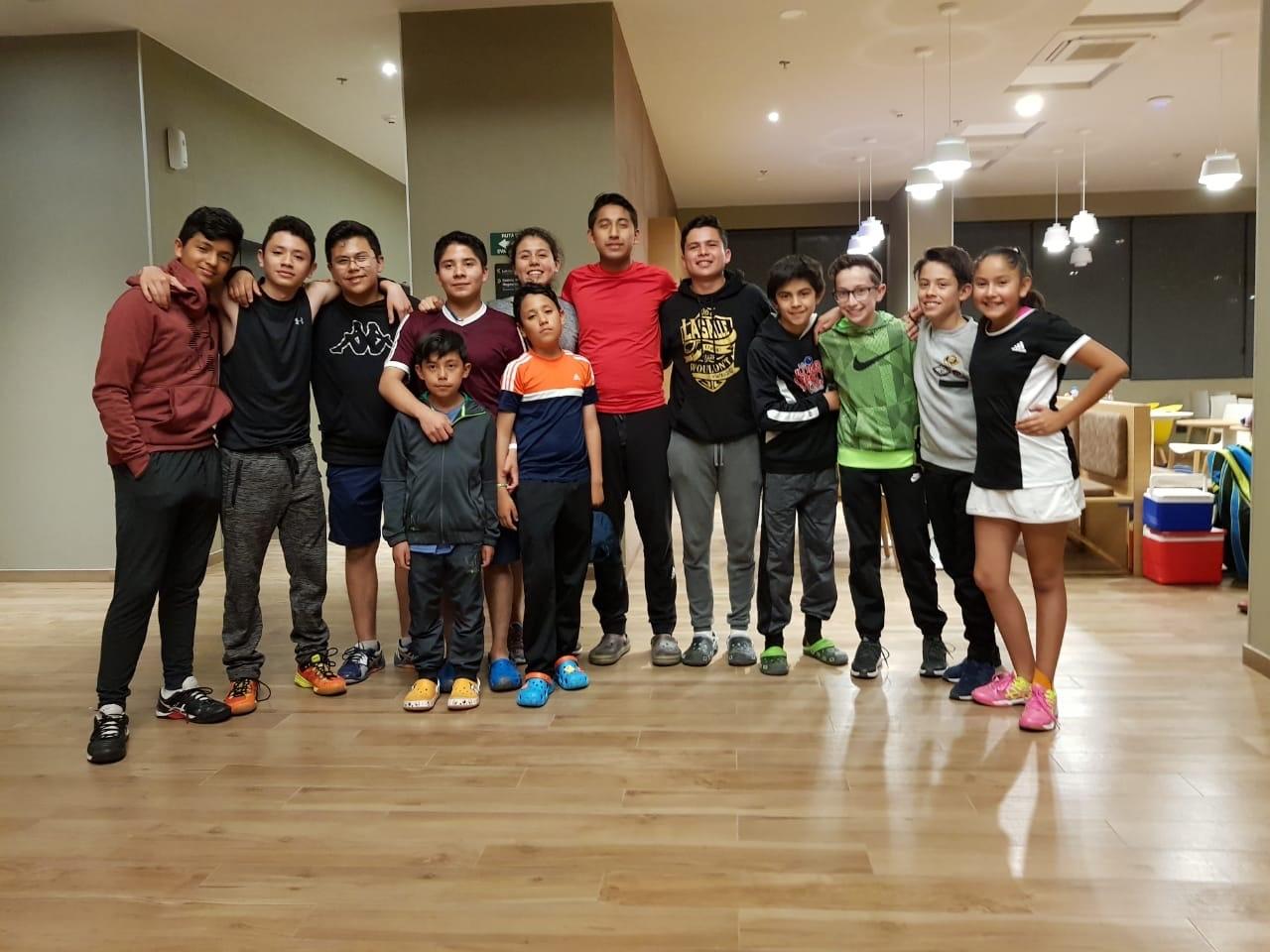 Reportan listo equipo tlaxcalteca de squash para la olimpiada
