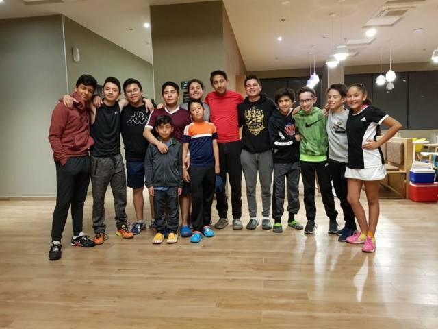 Califican 11 squashitas a la Olimpiada Nacional