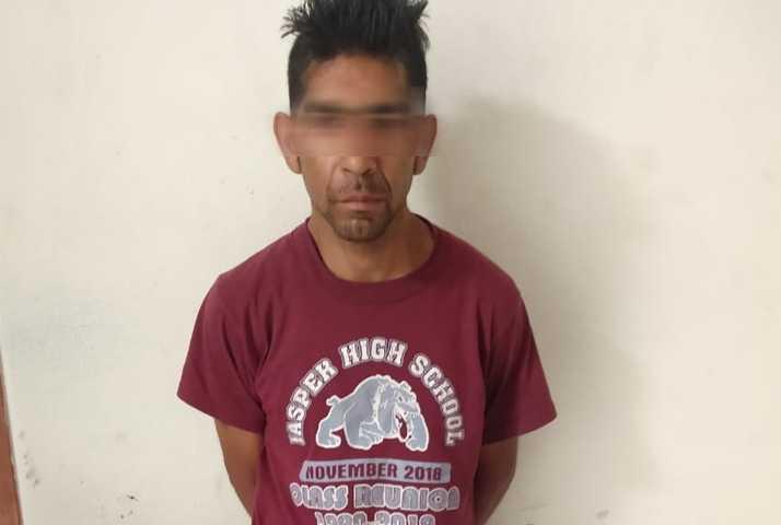 Detiene Policía de Xicohtzinco a agresor