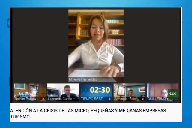 Minerva Hernández considera que la economía mexicana necesita certeza