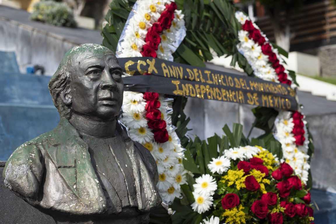 Conmemoran autoridades 210 Aniversario del inicio de la Independencia de México