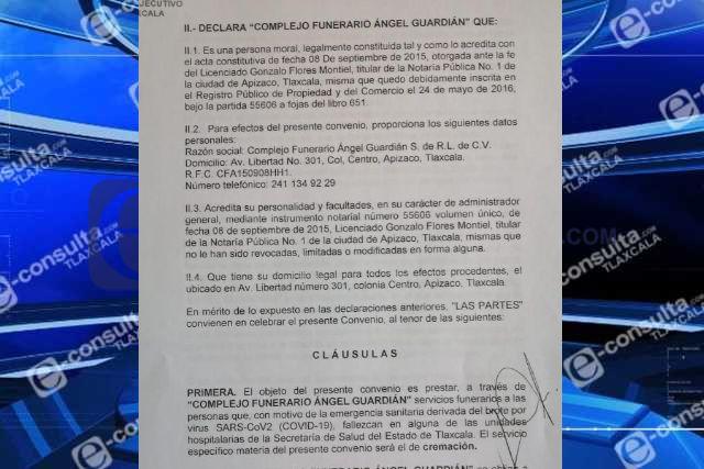Crematorio en Apizaco tiene autorización del gobierno estatal