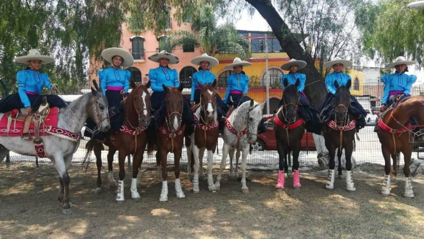 Listo selectivo infantil de escaramuza charra que competirá en Olimpiada Nacional 2019