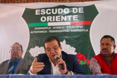 """Conforman municipios la alianza """"Escudo de Oriente"""" para combatir la inseguridad"""