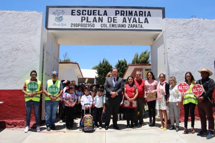 Escuela Segura 2019 y Padre Vigilante y Vial fomentamos una cultura vial: alcalde