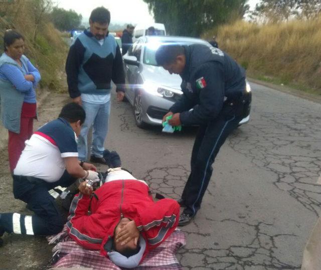 Atropellan y lesionan a motociclistas en Ixtacuixtla