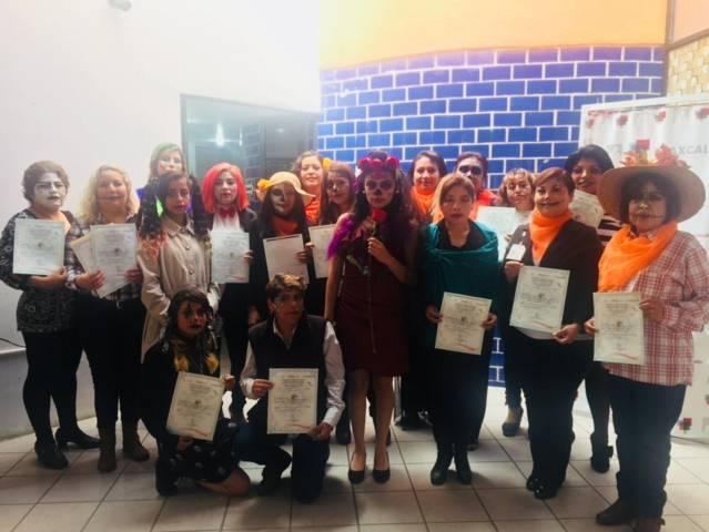 Clausuran taller de estilismo en el IMM de la capital