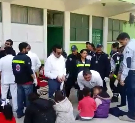 36 niños intoxicados por comida en mal estado en el internado amarillas