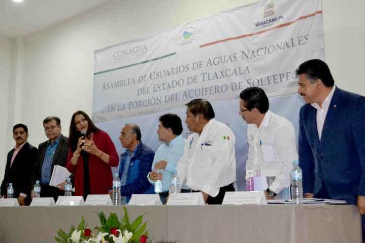 Nanacamilpa sede de Asamblea de Aguas Nacionales de Tlaxcala