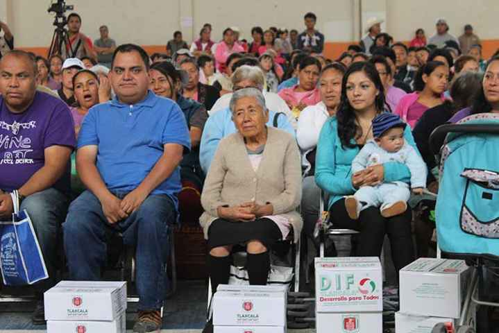 Reconocen en Papalotla labor de DIF estatal