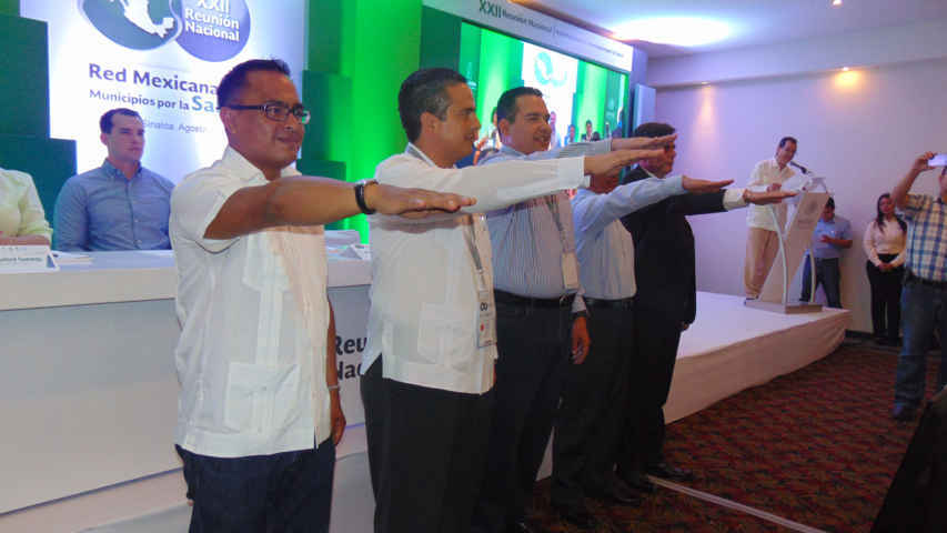 Representará Israel Muñoz a Tlaxcala en Mesa Directiva de Red Nacional de Municipios por la Salud