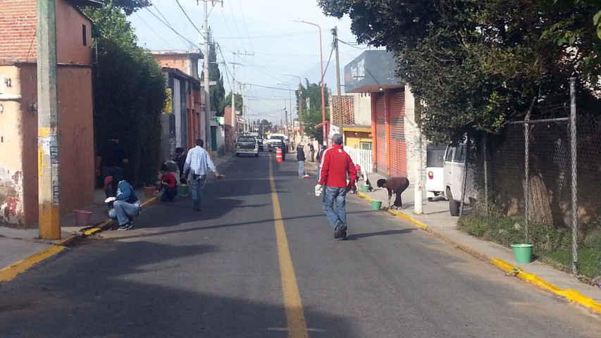 Encabeza alcalde de Papalotla faenas de limpieza