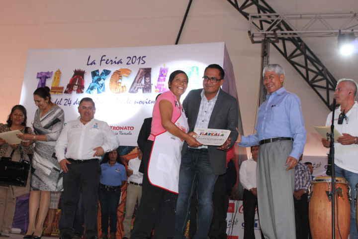 El mole de Papalotla presente en el festival de la Feria Tlaxcala 2015