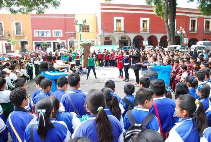 Refuerza CAPAM programas sobre el cuidado del agua en escuelas de la capital
