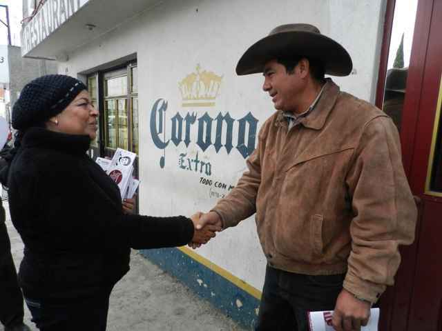 """""""Morena crece y se fortalece en diversos municipios de Tlaxcala"""": Martha Palafox"""