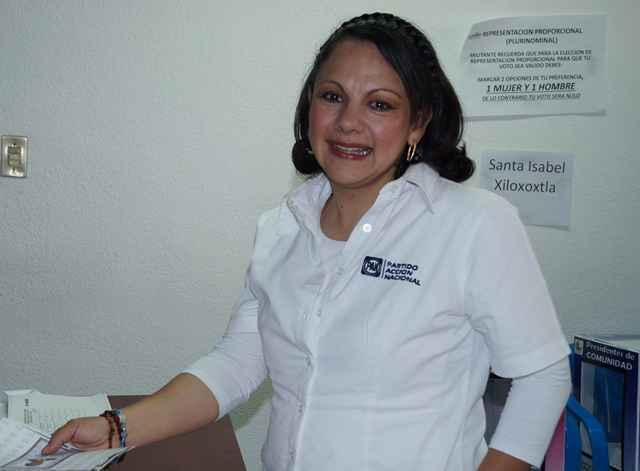 """Carreón """"tiene terror de perder el control del PAN""""; Claudia P."""