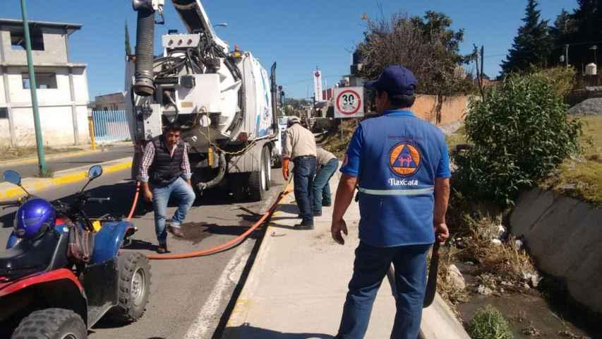 Participa Capam en jornada de limpieza en la capital
