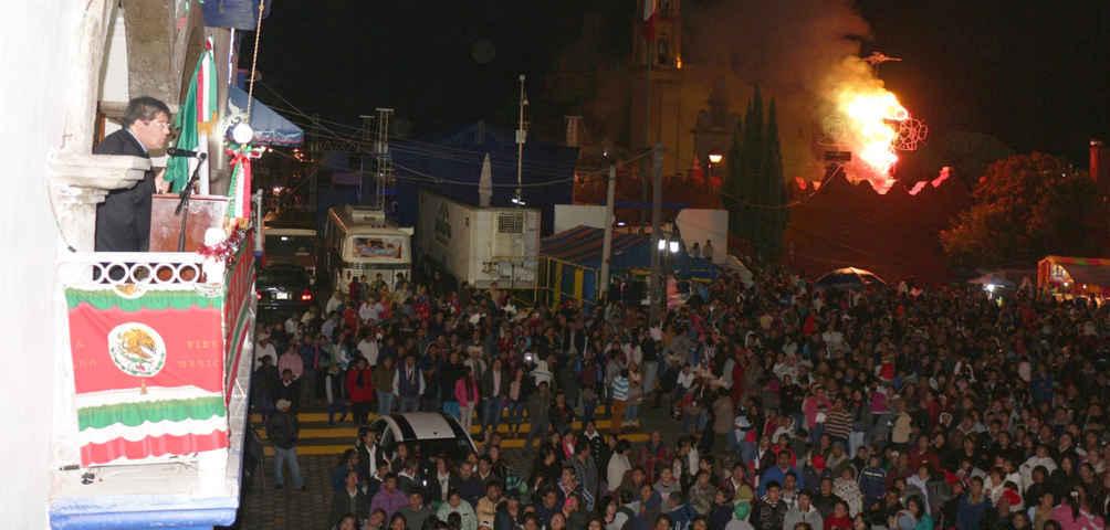 Transcurren de forma exitosa y sin contratiempos los festejos patrios en Contla