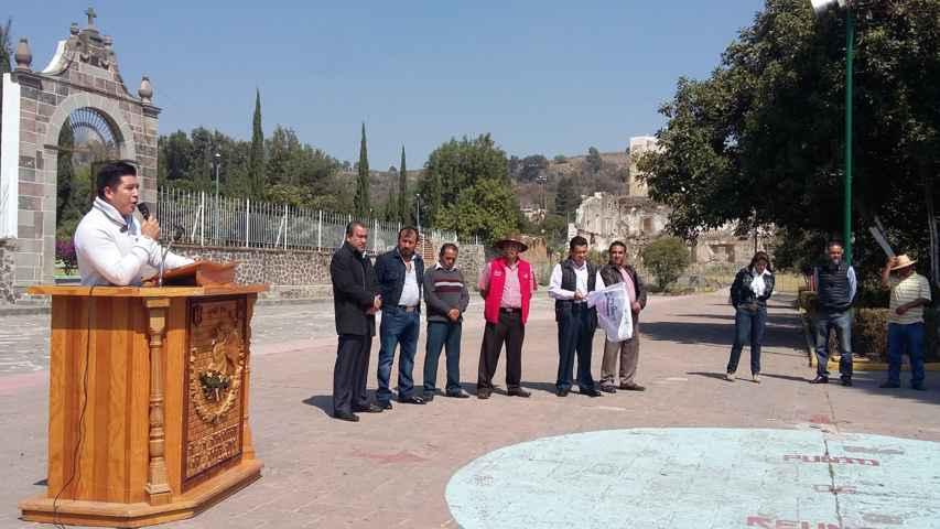 Inicia en Tepeyanco Segunda Etapa de Rehabilitación de Agua Potable