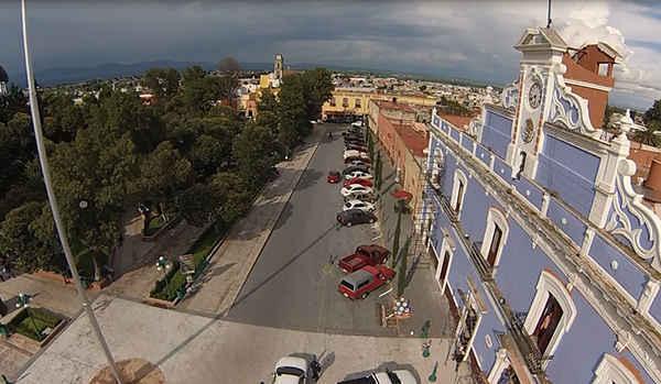 Inician preparativos para Video Mapping en Huamantla