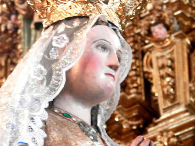 Esta muy dañada la imagen de la Virgen de Ocotlán