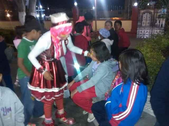 En Tetlatlahuca realizan encendido de luces navideñas