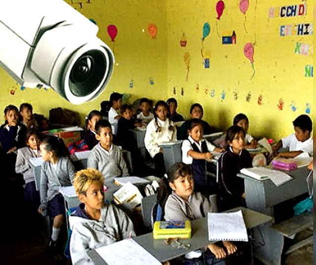 Propone Diputada instalar cámaras de video en escuelas
