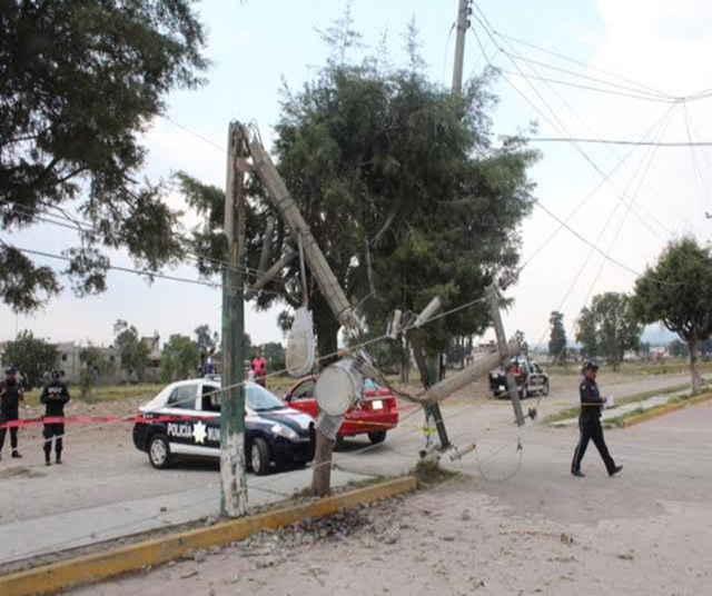 Sacude meteoro climático municipios de Tlaxcala