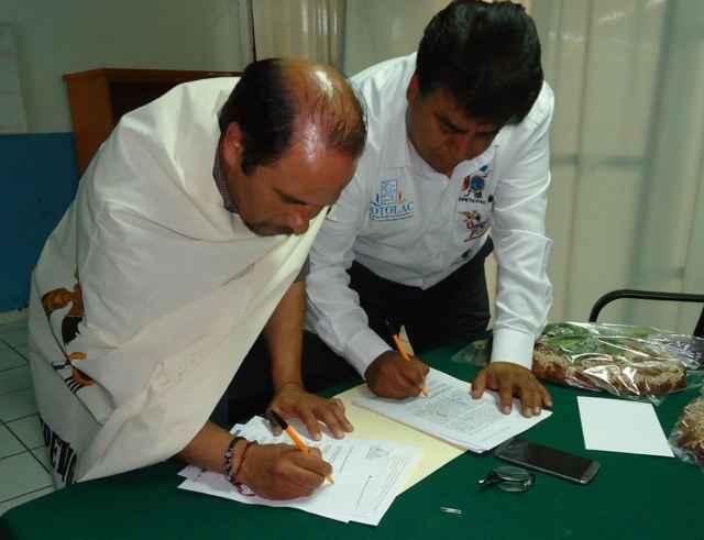 Firman hermanamiento Totolac y Venado en el marco del aniversario de La Gran Jornada Tlaxcalteca del siglo XVI