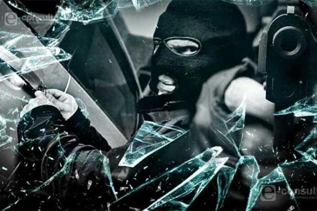 Ubican vehículo en Huamantla con reporte de robo