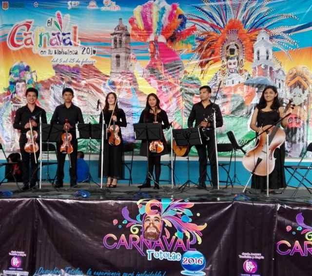 Inician carnaval en Totolac con apertura del Museo del Huehue