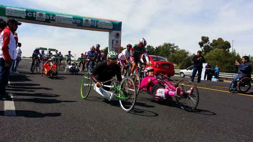 Realizan 4to Serial de Paraciclismo en Tlaxcala