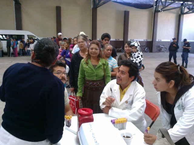 Se realizan las Jornadas de la Salud en tu Comunidad en Tetla