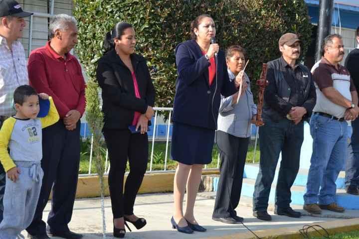 Inician techumbre en Institución Educativa de Nanacamilpa