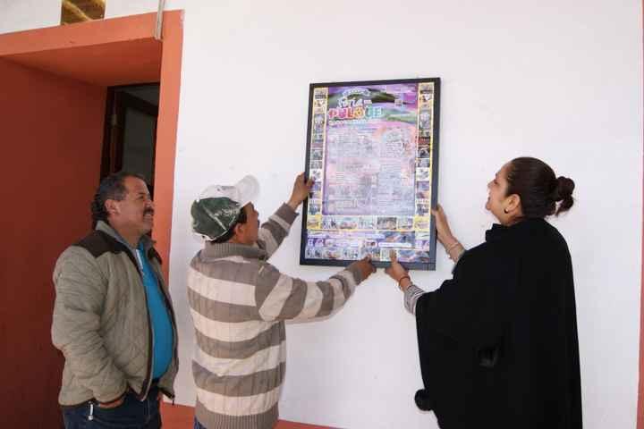 Listo el festejo de XXXVII Feria del Pulque Nanacamilpa 2016
