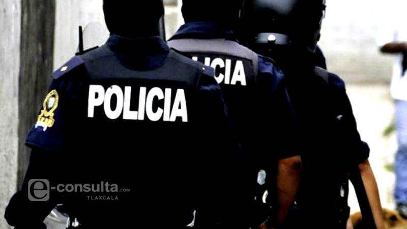 Evita Policía Estatal robo a tren por rumbo de Huamantla