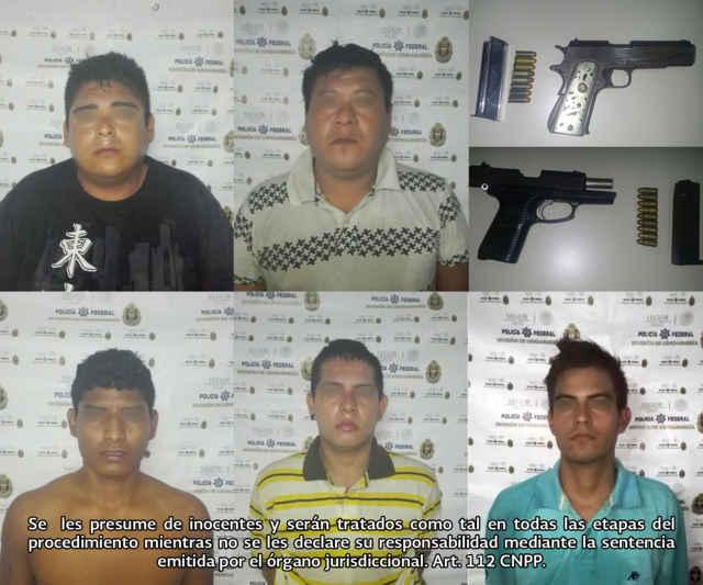 """Detienen a integrantes de """"Cartel Independiente de Acapulco"""""""