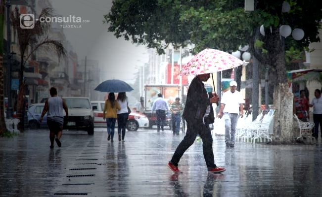 Se prevén lluvias escasas o lloviznas, y un ligero incremento en las temperaturas diurnas