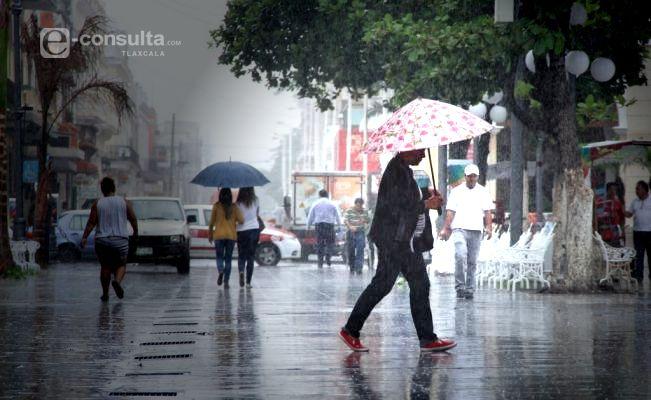 Se prevén lluvias con intervalos de chubascos y ambiente frío para Tlaxcala