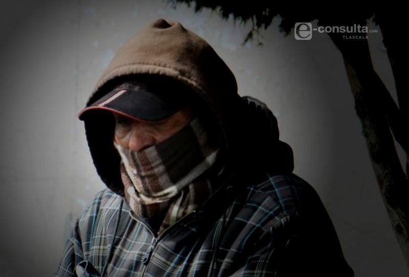 Ambiente frío para Tlaxcala durante la mañana y noche; cálido durante el día