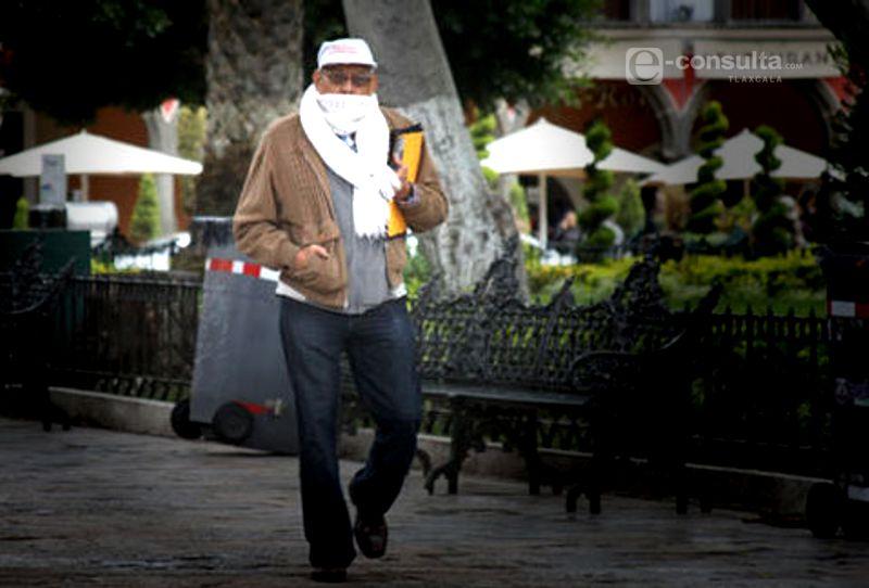 Prevalece ambiente frío para Tlaxcala durante la mañana y noche