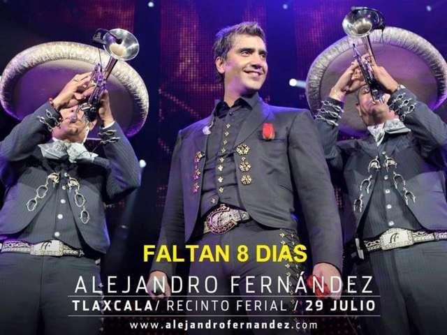 Alejandro Fernández se reencontrará con Tlaxcala