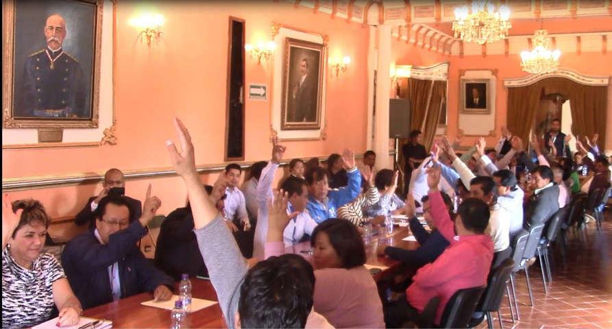 Ayuntamiento de Huamantla realiza sesión número 100 de cabildo
