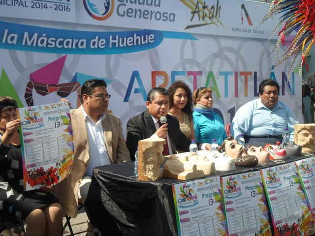 Costará 130 mil pesos edición 2016 del Carnaval de Apetatitlán