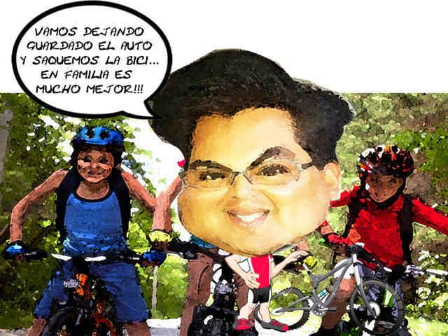 Fomentan visitar en bici los paisajes de Yauhquehmecan